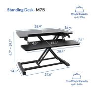 Adjustable Home Office 28 inches Standing Desk Converter