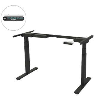 Home Office Electric Standing Desk Frame Dual Motor EQ3