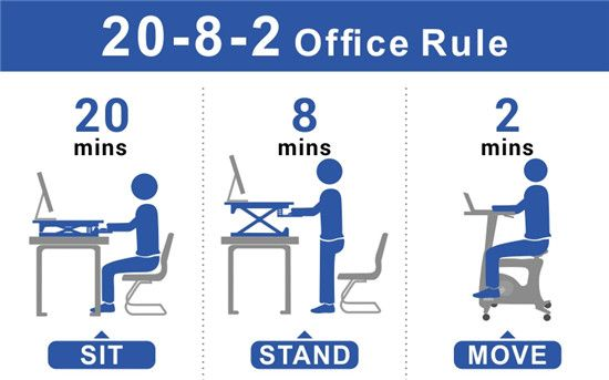 Still Sitting? Will you Stand for it? Only a drummer is active when sitting!