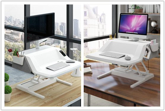 Stylish Electric Sit-Stand Smart Workstation EM6S VS Aesthetic Sit Stand Worksta