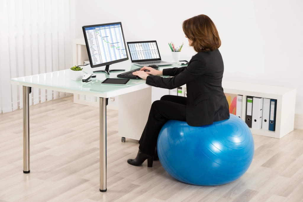 Exercise Balls: New Office Chair or Just Another Trend?