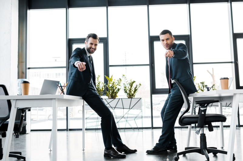 Lean on the Sturdiness of the Standing Desks