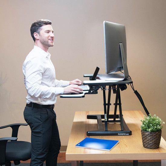 Does a Standing Desk Actually Reduce Sitting Time?