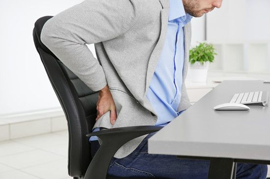back pain caused by bad habits