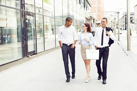 Take a walk at work to promote good spine health
