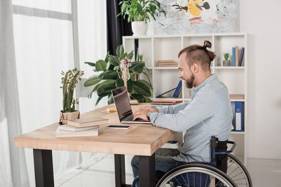 The Three Stage Height Adjustable Desk: Why It's Vital for Wheelchair Accommodation