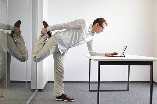 Improve Your Balance With Your Standing Desk