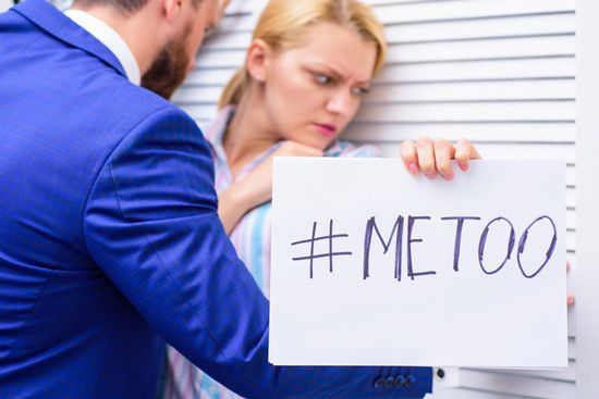 sexual harrassment in the workplace and metoo tag