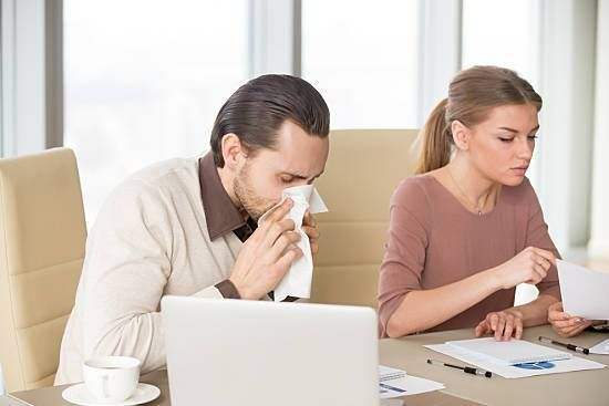 Achoo! Cold and Flu Season in the Office: How to Stay Healthy