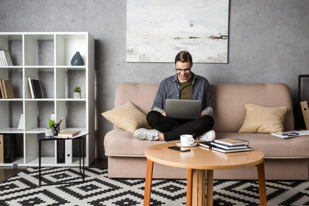 Hacks for small space WFH