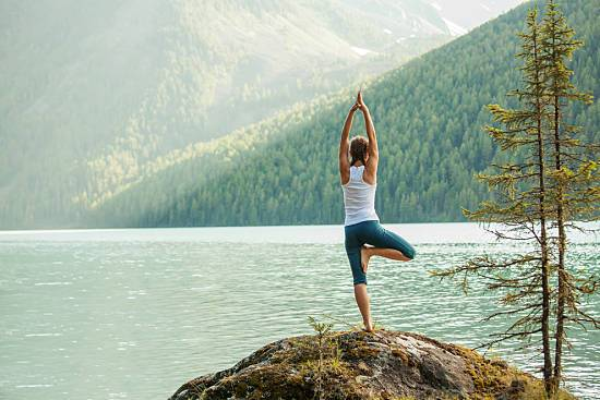 Wondering how to improve posture? Try a few yoga poses to improve in just a few