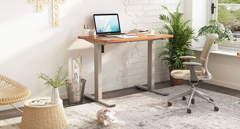 Ins style standing desk